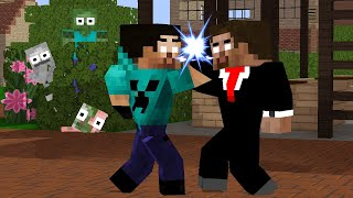 XD JAMES VISIT THEWEAKEST CRAFT - FUNNY MONSTER SCHOOL MINECRAFT ANIMATION