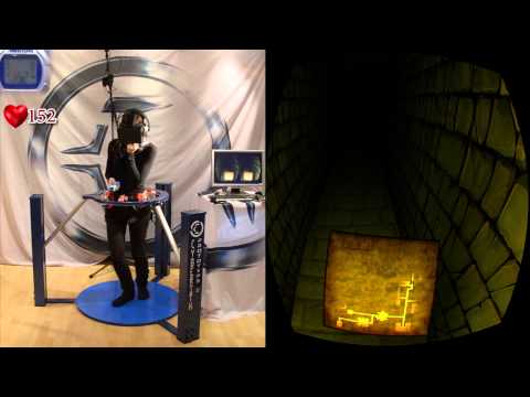 Ultimate Horror Experience with the Cyberith Virtualizer and The Oculus Rift