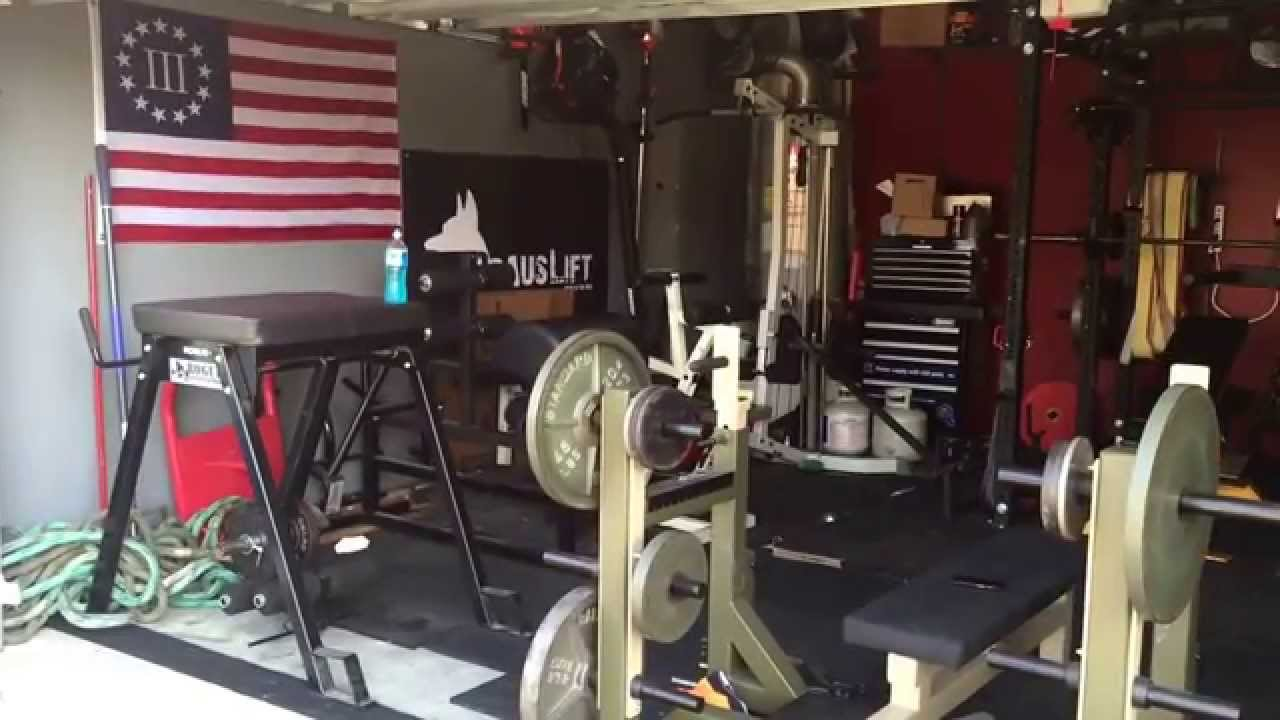 Garage gym update savage strength sports