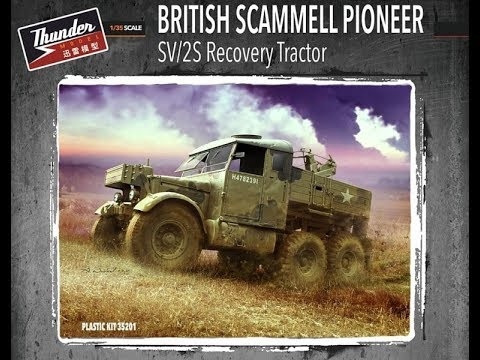 Kit Review: Thunder Model Scammell Pioneer SV/2S Recovery Tractor
