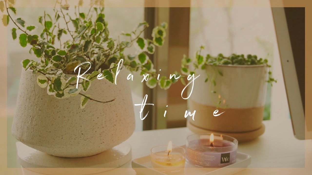 50min of【Pure Relaxing Music♪】 -  Study/Read/Relax with me
