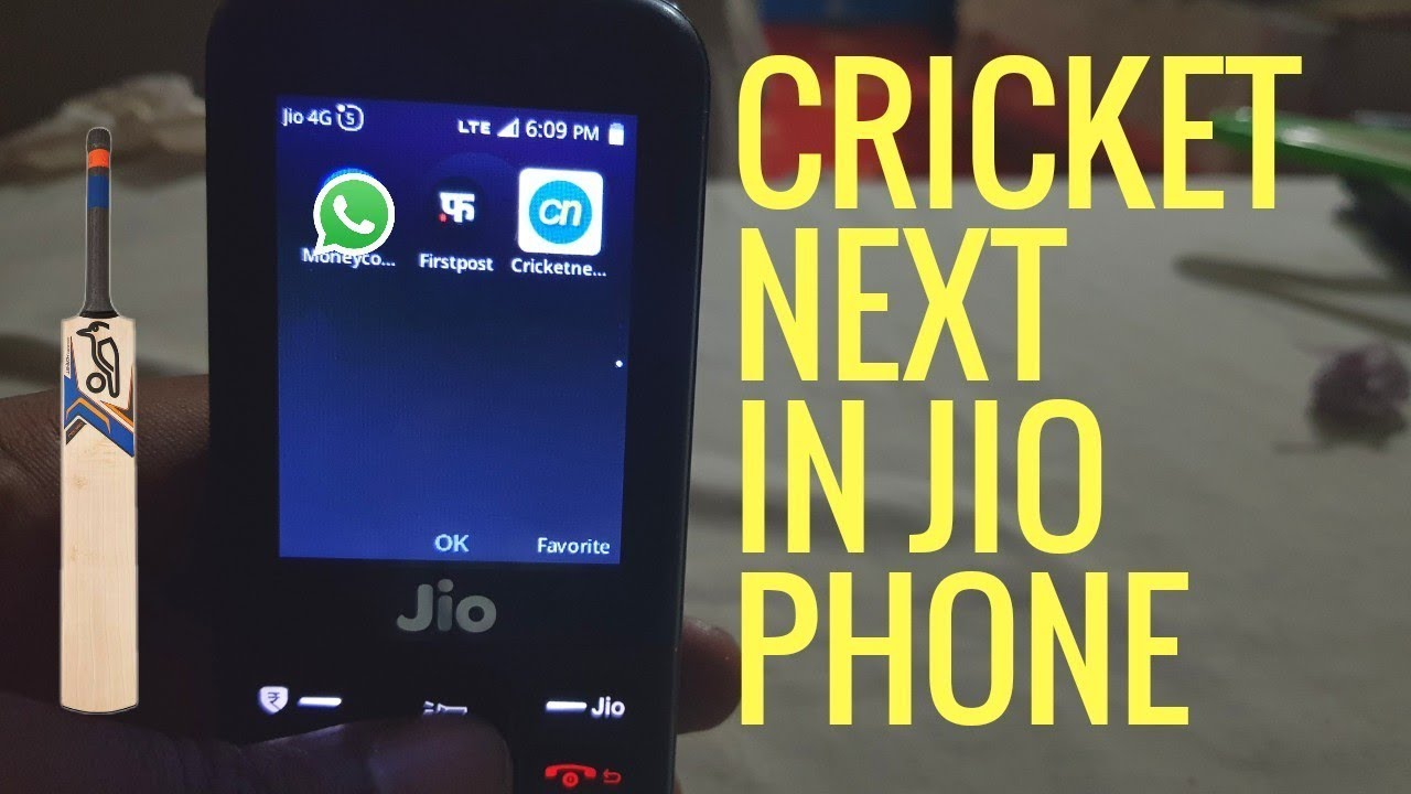 JIO PHONE NEW APPS CRICKET NEXT | whatsapp coming in Jio Phone | by  Checkout Tech