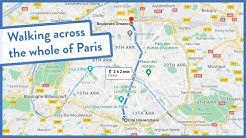 Live stream: Walking across the whole city of Paris