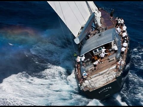 "Sailing luxury and racing boats ""extreme weather""  [GoPro]"