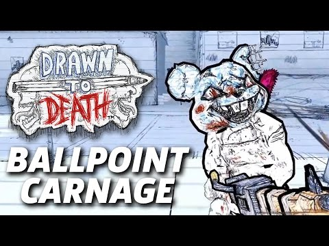 Drawn to Death - 3 Minutes Of Ballpoint Carnage Gameplay