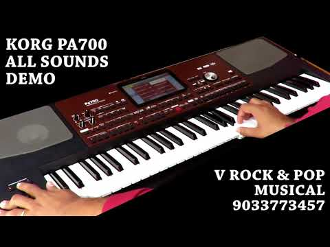 Korg pa700 All sounds