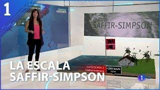 Así categoriza la escala Saffir-Simpson los huracanes