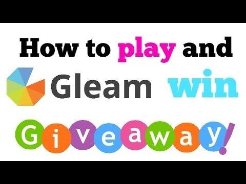 Gleam Giveaways Youtube