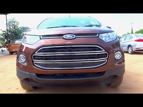 #Cars@Dinos: New Ford EcoSport 2016 Review (Test Drive, Walkaround)