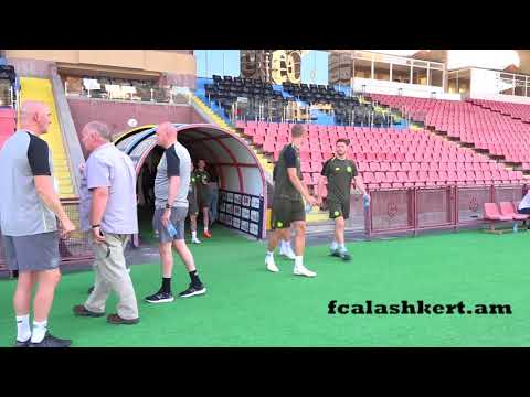 FC Alashkert - Celtic FC Pre-match trainings