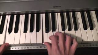 How to play Coldplay - Lost? on piano (Part 1)