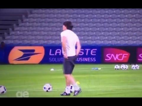 Ohydny trening Joachim Loew Euro 2016 13.06.2016