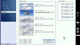 Muestro mi configuración de Flight Simulator X para PC de gama baja