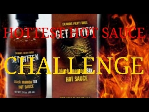 HOTTEST HOT SAUCE EVER CHALLENGE! (6MILLION scovilles)