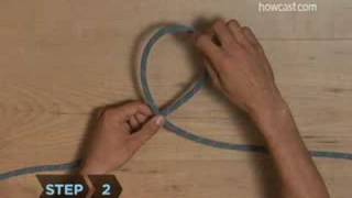 How to Tie a Figure Eight Knot
