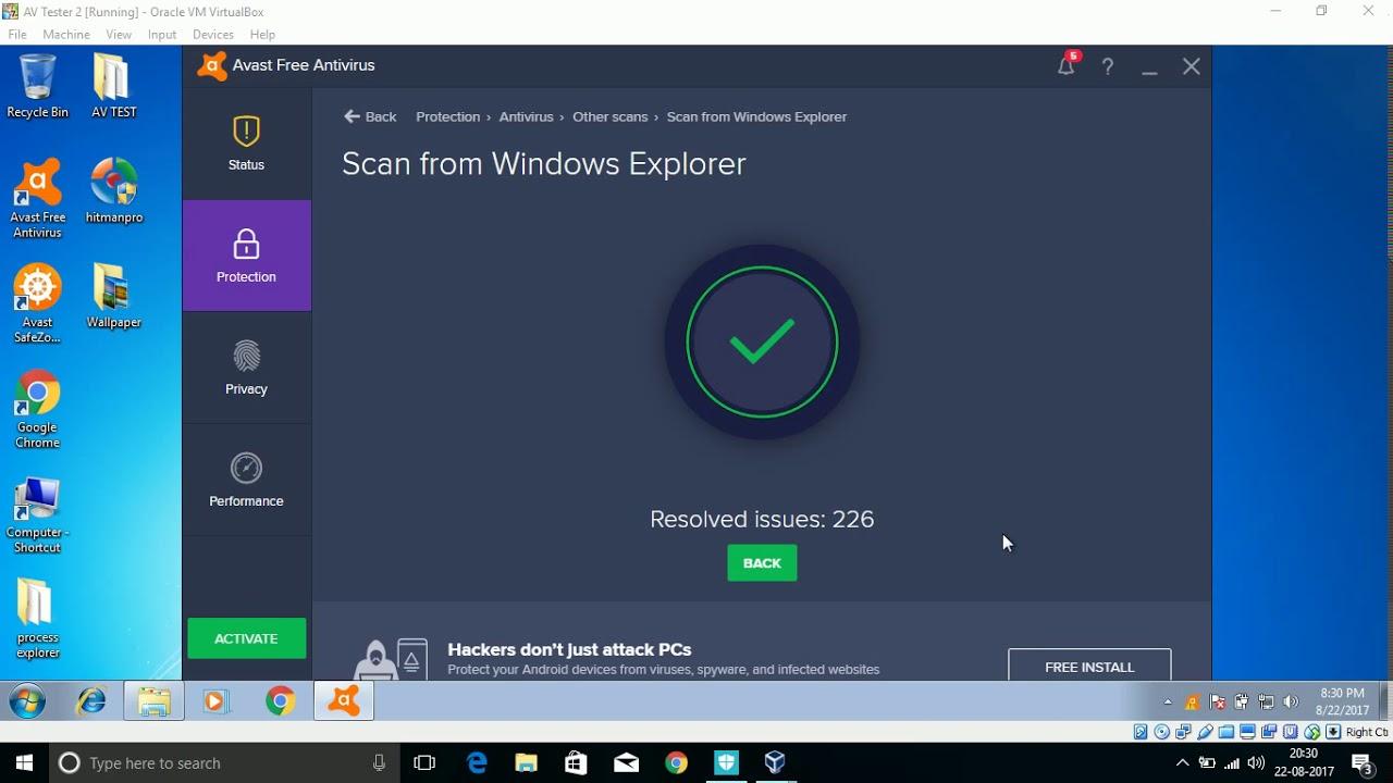 avast free antivirus bewertung