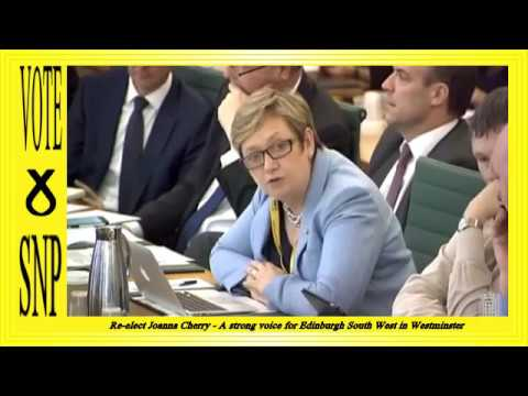 GE 2017: Joanna Cherry - Exiting the European Union Committee