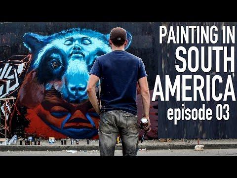 HUGE Surreal Bear - STREET ART SOUTH AMERICA 03