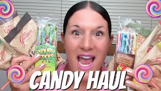 NOSTALGIC CANDY HAUL | Taste Testing EVERYTHING!!