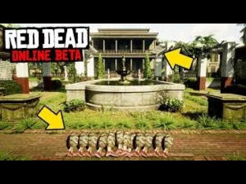 THIS FOUNTAIN WILL SPAWN UNLIMITED LEGENDARY FISH $$ | Red Dead Redemption 2 Online |