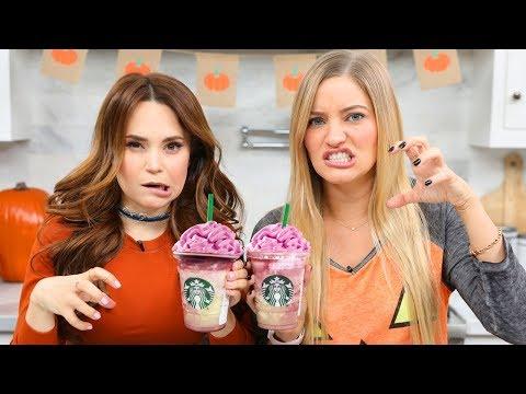 Starbucks Zombie Frappuccino Taste Test!