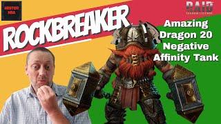 Raid Shadow Legends/Rockbreaker Guide/Dragon 20 Negative Affinity Tank