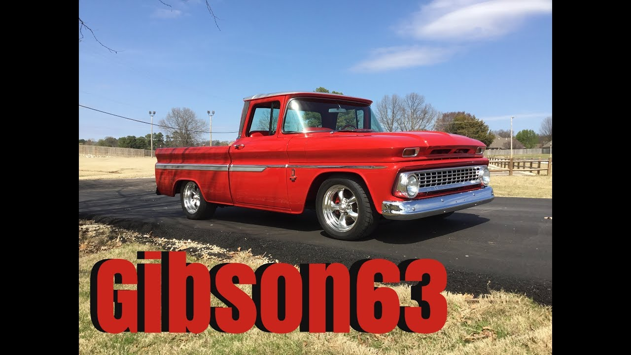 All Chevy 63 chevy c10 : 1963 chevy c-10 truck restoration slide show - YouTube