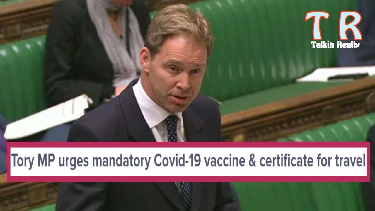BREAKING NEWS: Tory MP calls for mandatory vaccination roll out via Army