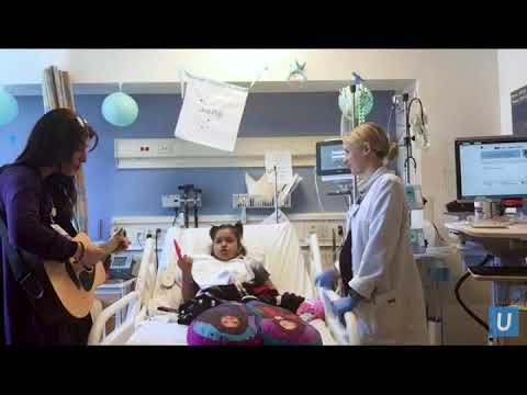 Vicky's Music Therapy and Speech Therapy Co-Treat | UCLA Mattel Children's Hospital