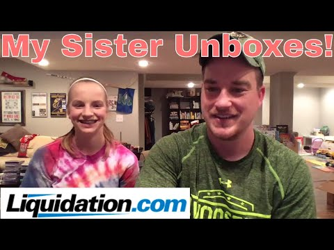 My Sister Unboxes Liquidation.com! Friday Night Free For All Q&A