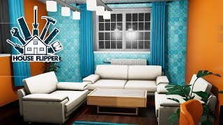 Retro House: Living Room and Kitchen! - House Flipper - Part 25