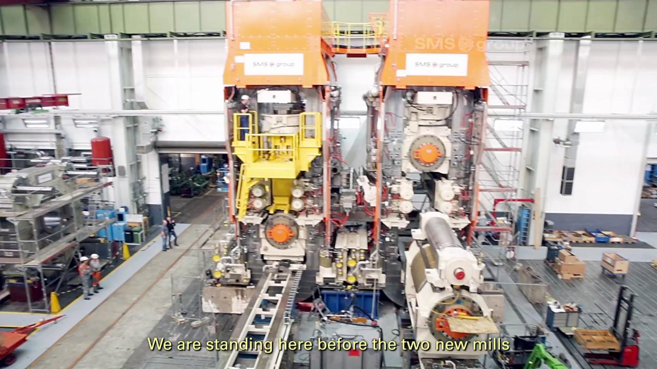 SMS group - Hot rolling - ArcelorMittal Gent Modernization HSM