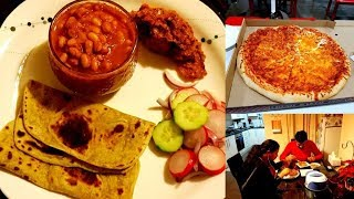 INDIAN SPECIAL DINNER ROUTINE | COSTCO Visit | Beans Curry, Plaintain Chutney, Square Paratha