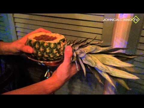 JohnCalliano.TV / 14 / Как приготовить кальян на ананасе