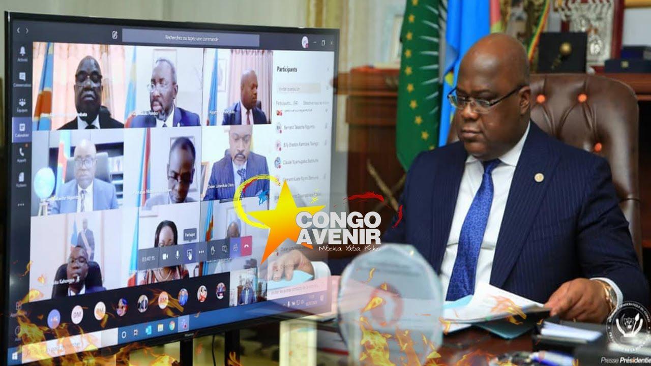 URGENT FELIX TSHISEKEDI DECONNECTE LE VPM MINSTRE DE LA JUSTICE D'ASSISTER AU CONSEIL DE MINISTRES