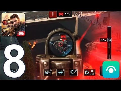 Sniper Fury - Gameplay Walkthrough Part 8 - Shanghai Completed (iOS, Android)