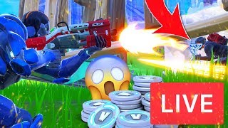 ZIEKE WINS HALEN - VBUCKS GIVEAWAY!! Fortnite Battle Royale EN direct