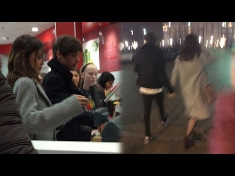 Louis Tomlinson & Danielle Campbell Caught Packing On The PDA In Chicago