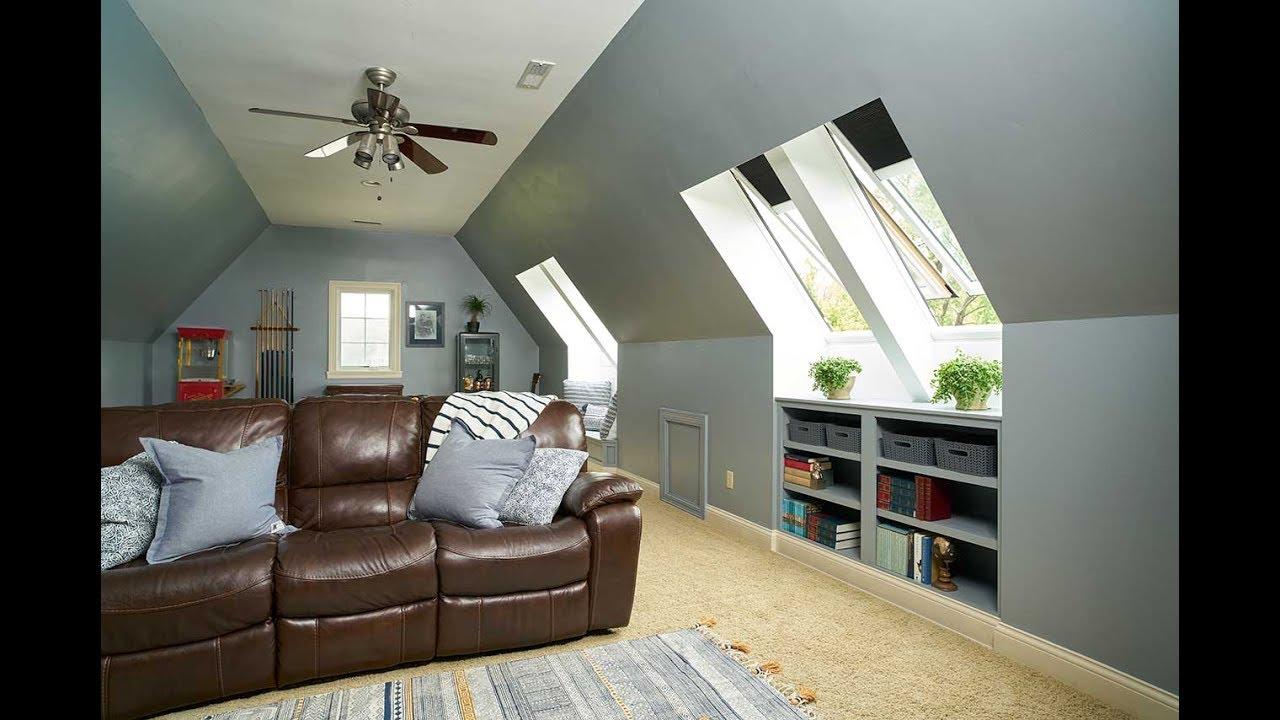 How to use skylights to transform bonus rooms - YouTube