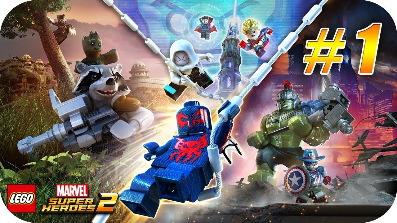 Lego Marvel Super Heroes 2 Gameplay Espanol Capitulo 1