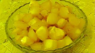 Тыква, запеченная в духовке с лимоном и медом
