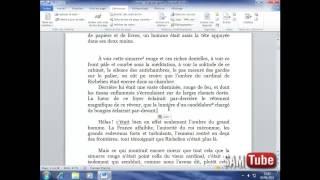 apprendre word 2010 - (40) Insérer les notes de bas de page