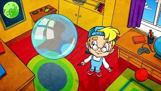 Развивающий мультфильм для детей - Профессор Почемушкин –Кто придумал мыльные пузыри?