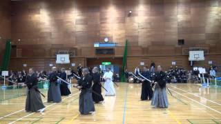 初代宗家中村泰三郎先生13回忌追悼大会 特別演武 海外剣士による、戸山...