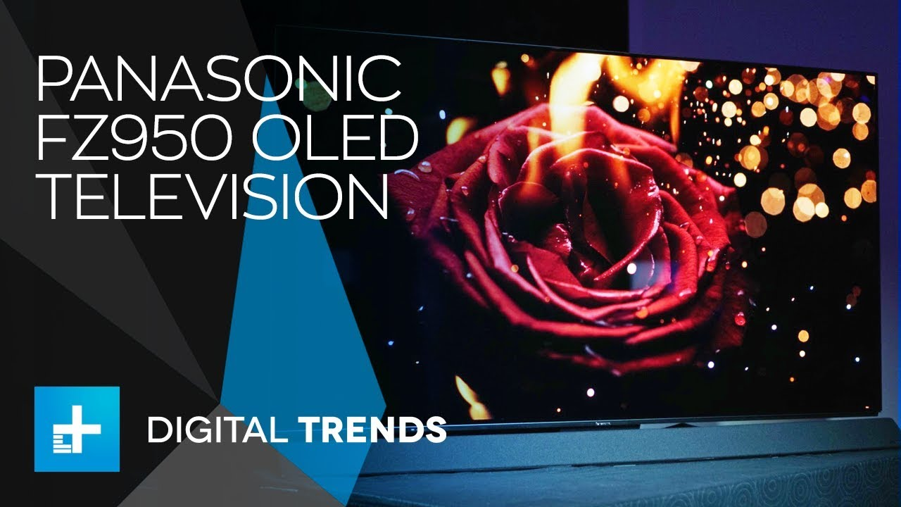 Panasonic FZ950 OLED TV – First Look at CES 2018