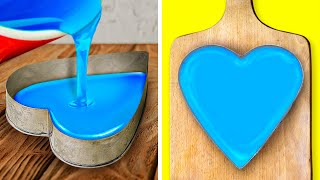 HEART CAKE DECORATING || EASY BUT BEAUTIFUL CAKE DECOR IDEAS