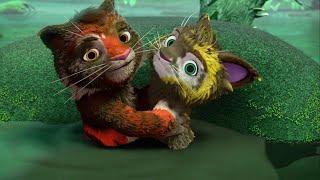 Мультики для детей – Лео и Тиг – Подарок духа тайги – Про животных