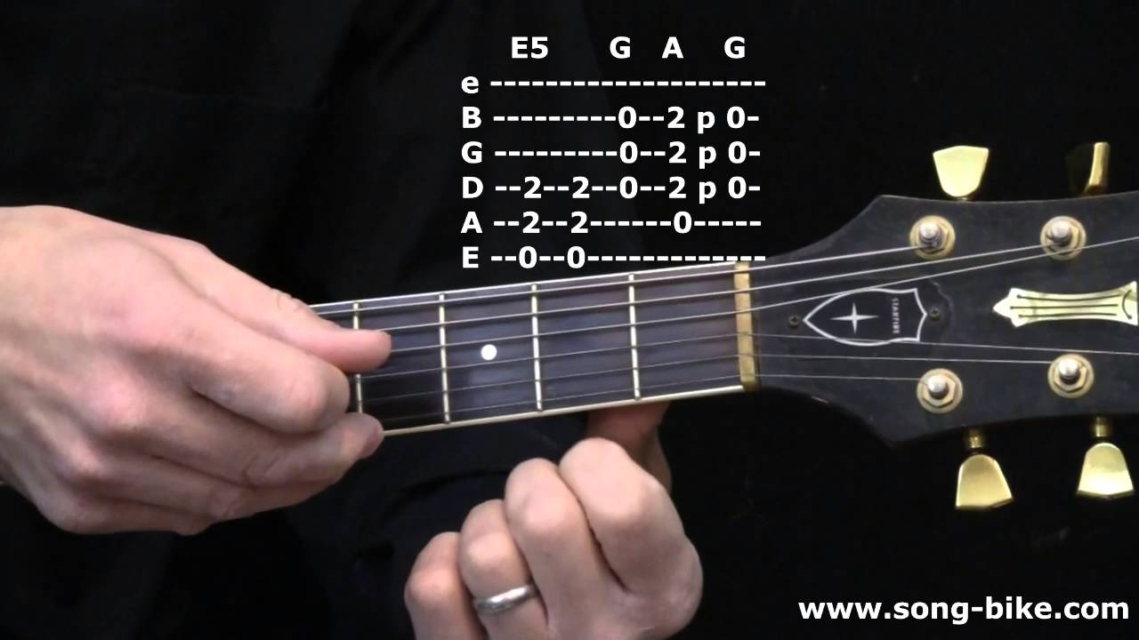 The E G A Blues Trick The One Finger Riff Isis Doesnt Want You To