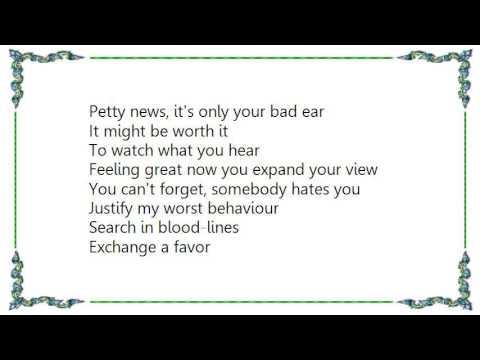 Helmet - Vaccination Lyrics