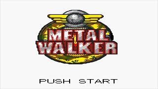 Metal  Walker HD Intro Title & In Game